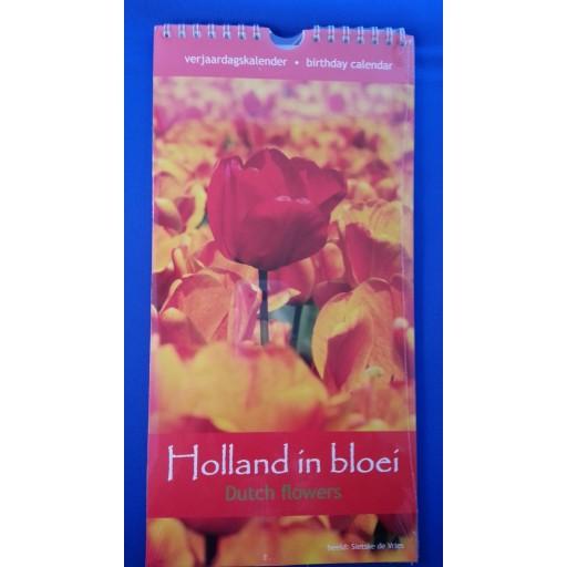 Verjaardagskalender Holland in Bloei