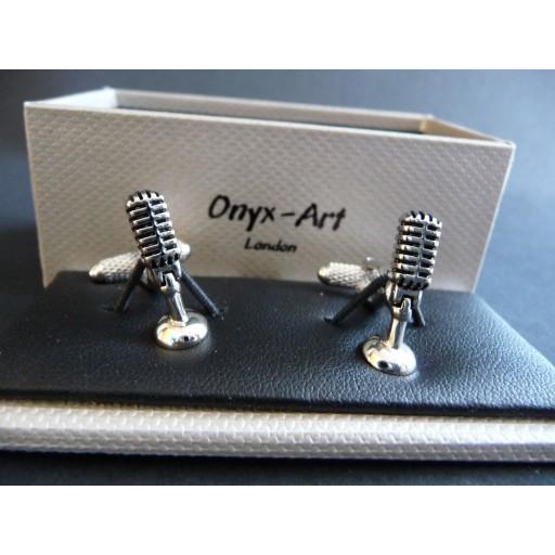 Manchetknopen  Microfoon
