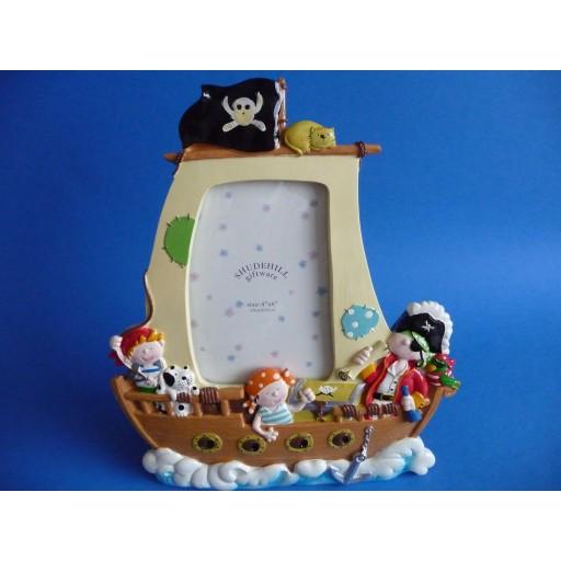 3D Fotolijst Piratenschip