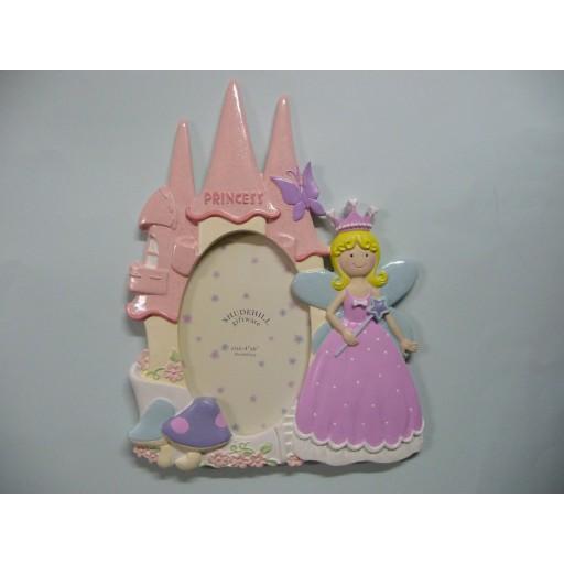 3D Fotolijst Prinses Roze