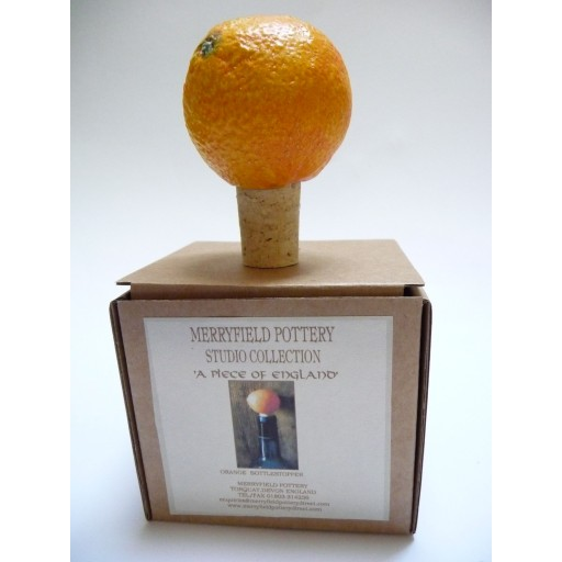 Flessenstop Sinaasappel